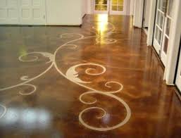 cement flooring designs